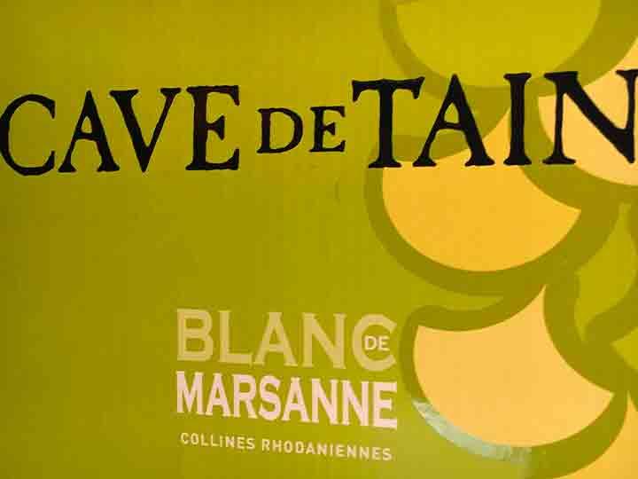 Cave de Tain Blanc Marsanne
